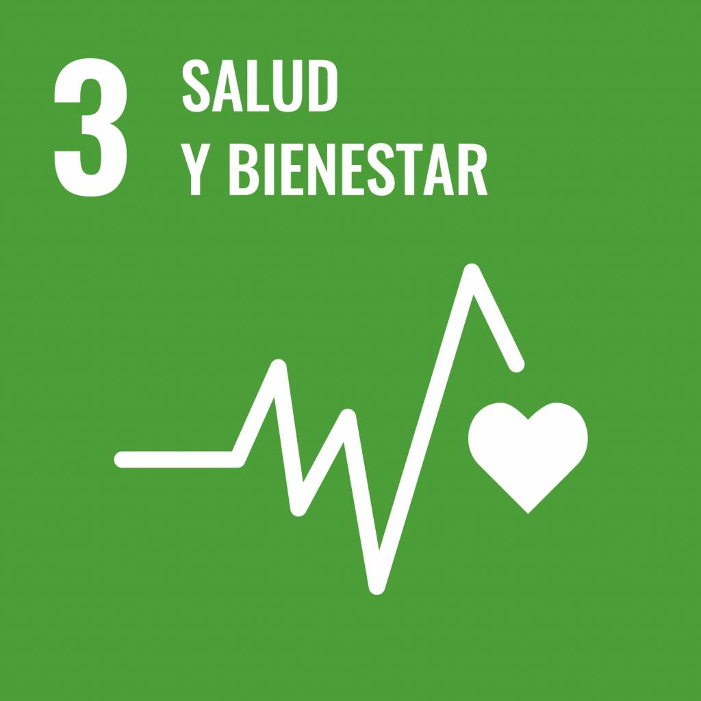 Logotipo ODS 3 Salud y bienestar