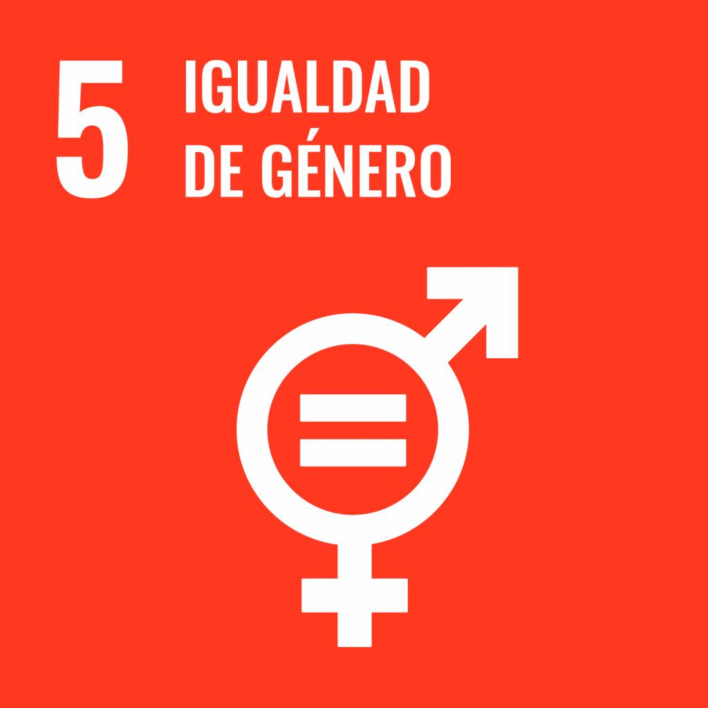 Logotipo ODS 5 Igualdad de género