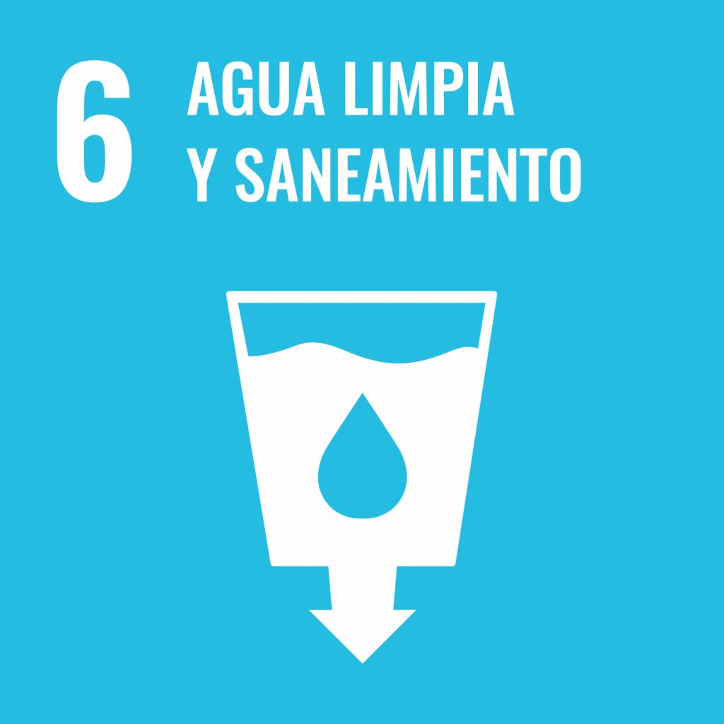 Logotipo ODS 6 Agua limpia y saneamiento